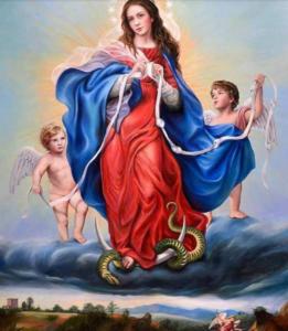 Preghiera della notte a Maria che scioglie i nodi.