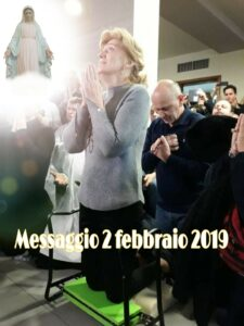 MESSAGGIO  A MIRJIANA 2 febbraio 2019