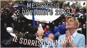 Messaggio del 2 Novembre 2019 a Mirjana