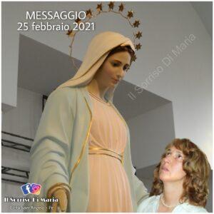 Messaggio a Medjugorje del 25 febbraio 2021 a Marjia