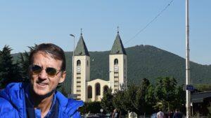 Roberto Mancini a Medjugorje ha riscoperto la fede.