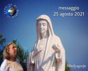 Medjugorje: messaggio del 25 agosto 2021 alla veggente Marjia